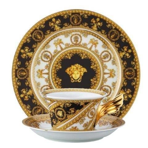 Versace I Love Baroque 3 Piece Set (Teacup Saucer u0026 Plate 22cm)  sc 1 st  Luxury Dining & Versace I Love Baroque 3 Piece Set Teacup Saucer u0026 Plate 22cm