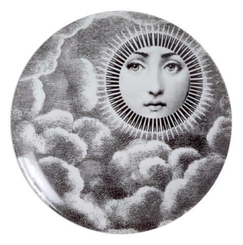 Fornasetti Wall Plate T & V 101