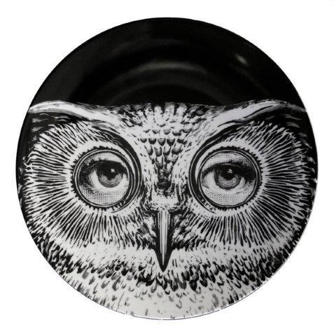 Fornasetti Wall Plate T & V 105