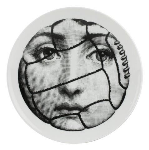 Fornasetti Wall Plate T & V 117
