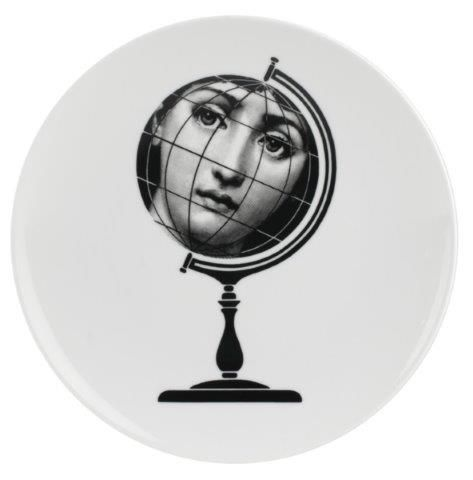 Fornasetti Wall Plate T & V 119