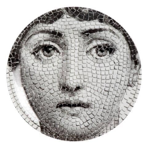Fornasetti Wall Plate T & V 131