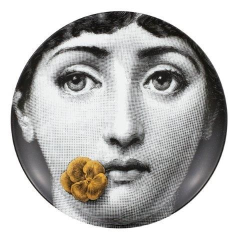 Fornasetti Wall Plate T & V 137