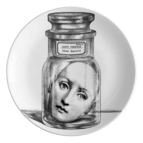 Fornasetti Wall Plate T & V 166