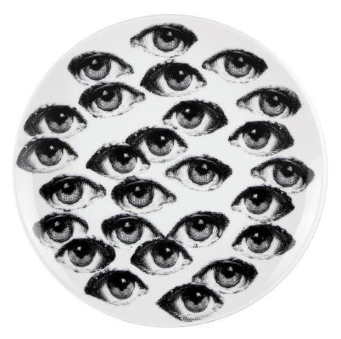 Fornasetti Wall Plate T & V 168