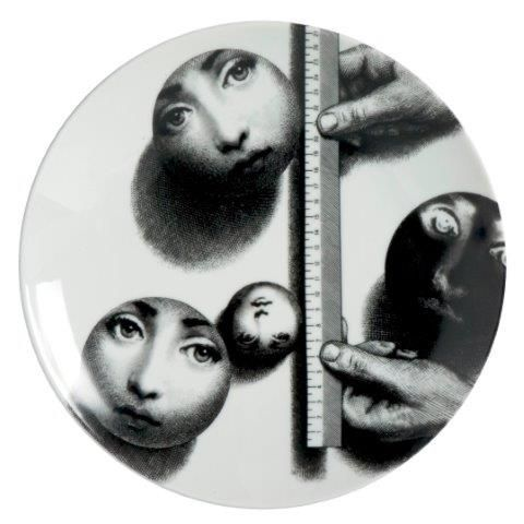 Fornasetti Wall Plate T & V 173