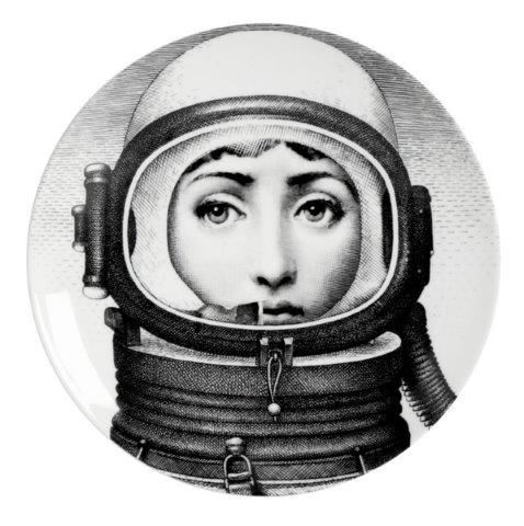 Fornasetti Wall Plate T & V 181