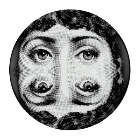 Fornasetti Wall Plate T & V 20