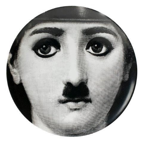 Fornasetti Wall Plate T & V 204