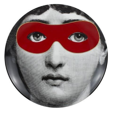 Fornasetti Wall Plate T & V 22