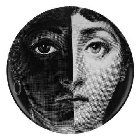 Fornasetti Wall Plate T & V 222