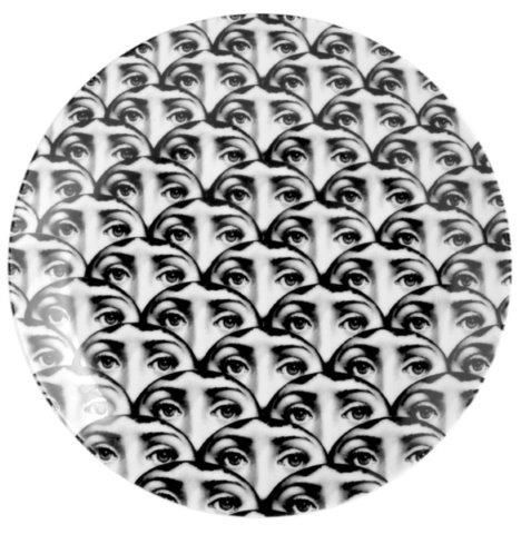 Fornasetti Wall Plate T & V 224