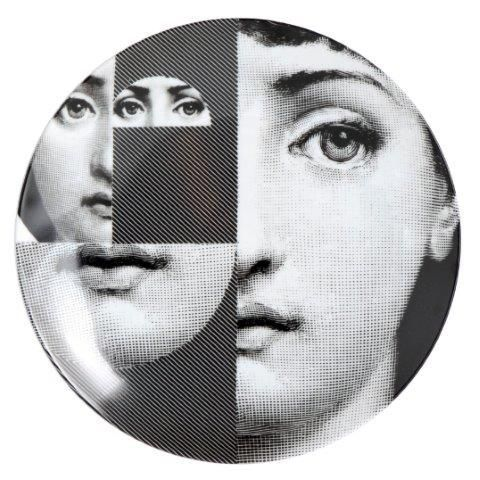 Fornasetti Wall Plate T & V 230