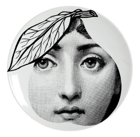 Fornasetti Wall Plate T & V 24