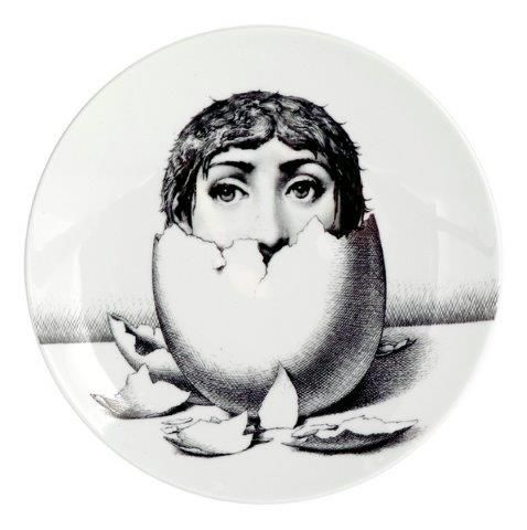 Fornasetti Wall Plate T & V 258