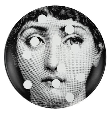 Fornasetti Wall Plate T & V 27