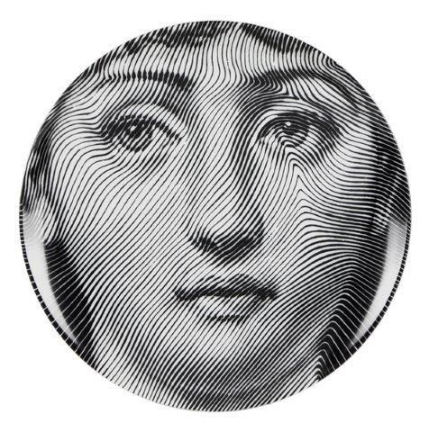 Fornasetti Wall Plate T & V 270