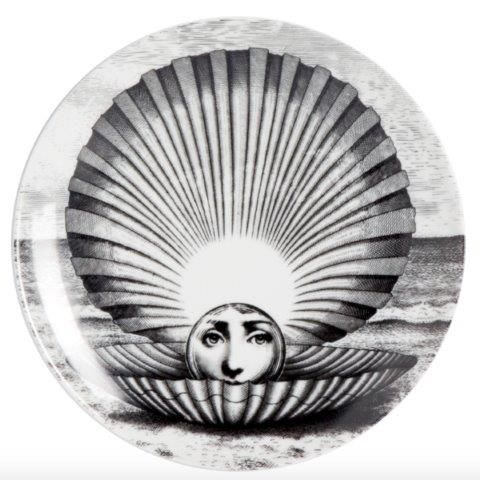 Fornasetti Wall Plate T & V 274