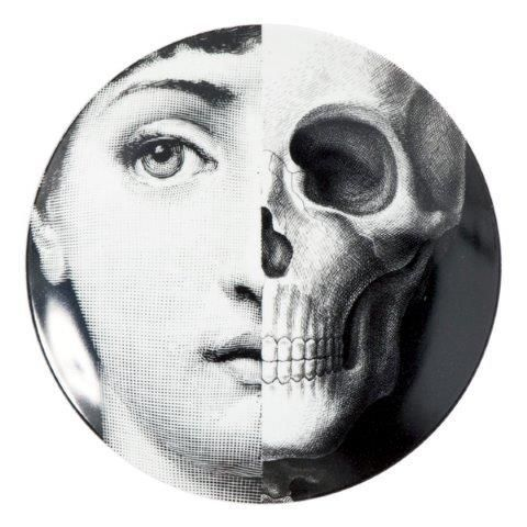 Fornasetti Wall Plate T & V 288