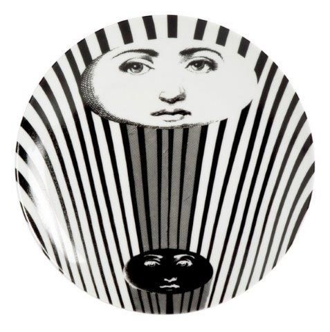 Fornasetti Wall Plate T & V 314