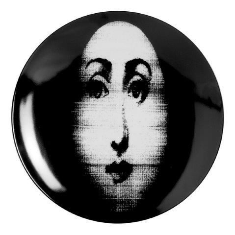 Fornasetti Wall Plate T & V 317