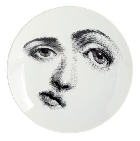 Fornasetti Wall Plate T & V 323
