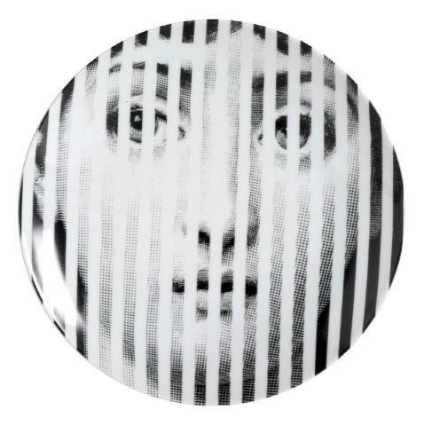 Fornasetti Wall Plate T & V 34