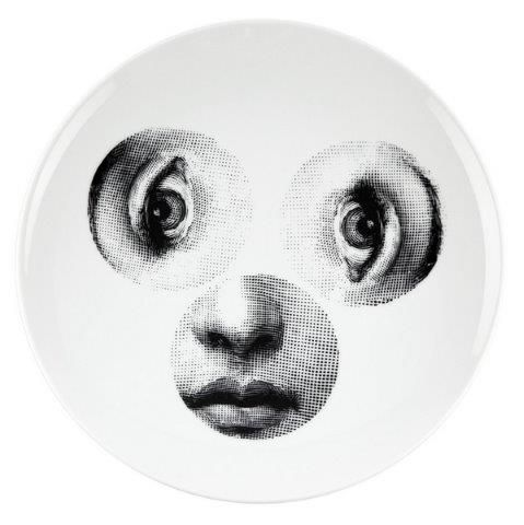 Fornasetti Wall Plate T & V 40