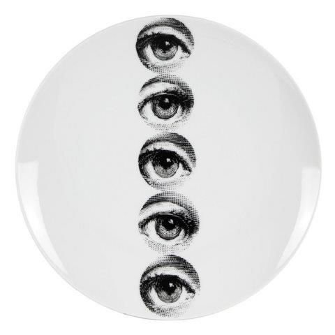 Fornasetti Wall Plate T & V 43