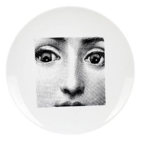 Fornasetti Wall Plate T & V 49