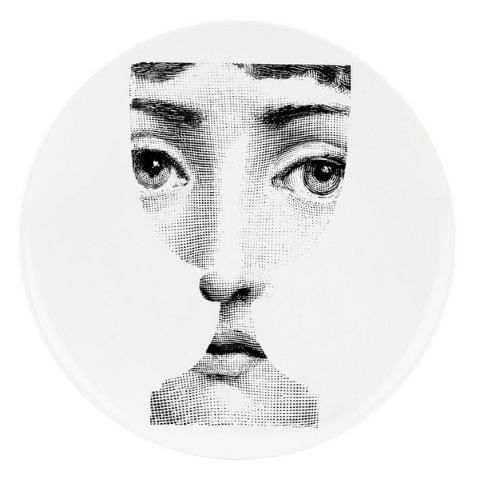 Fornasetti Wall Plate T & V 51