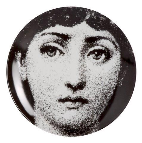 Fornasetti Wall Plate T & V 75