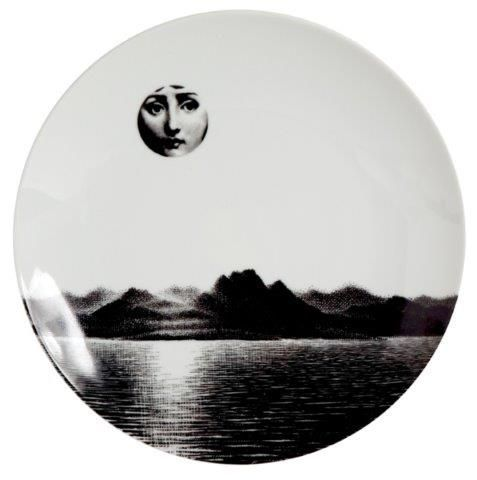 Fornasetti Wall Plate T & V 85
