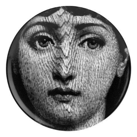 Fornasetti Wall Plate T & V 90
