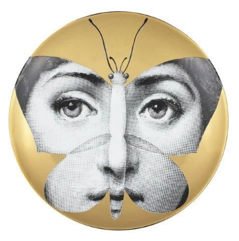 Fornasetti Wall Plate T & V 96