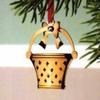 Georg Jensen 2008 annual holiday ornament 24 carart gold