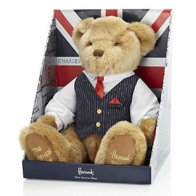 HARRODS OF KNIGHTSBRIDGE THE ANNUAL 2013 DATED TEDDY BEAR CHARLES STEPHENS