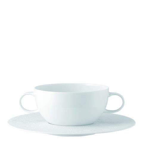 Rosenthal Studio-Line Zauberflote White Soup Cup & Saucer