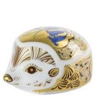 Royal Crown Derby bluebell hedgehog Paperweight