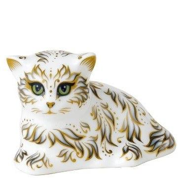 Royal Crown Derby millie the kitten Paperweight
