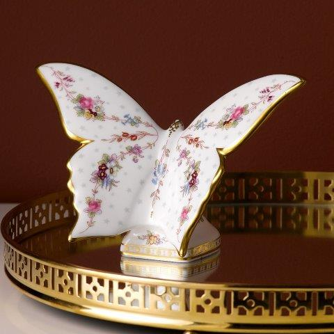 Royal Crown Derby Royal Antoinette Butterfly Paperweight