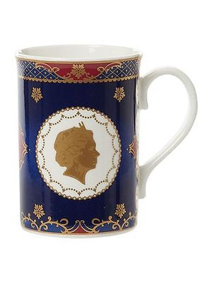 Royal Worcester Coronation Anniversary mug