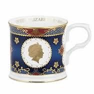 Royal Worcester Queen Elizabeth II Coronation 60th Anniversary Tankard