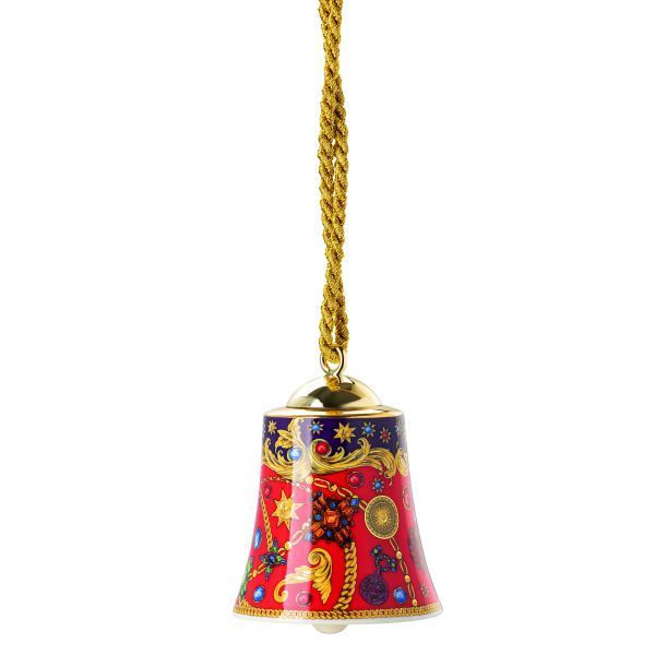 Versace Barocco Holiday Christmas 2020 Porcelain Bell