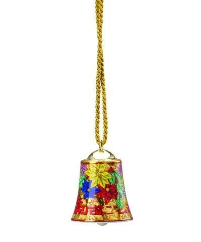 Versace Holiday Alphabet Porcelain Bell