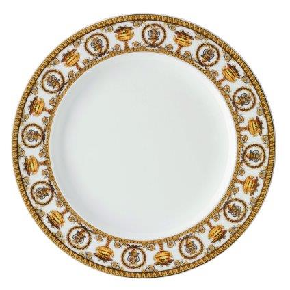 Versace I Love Baroque Bianco Dinner Plate 27 cm