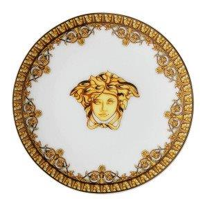 Versace I Love Baroque Bianco Plate 10 cm