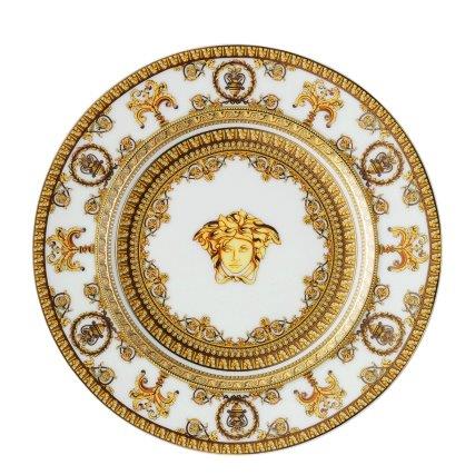 Versace I Love Baroque Bianco Side Plate 18 cm