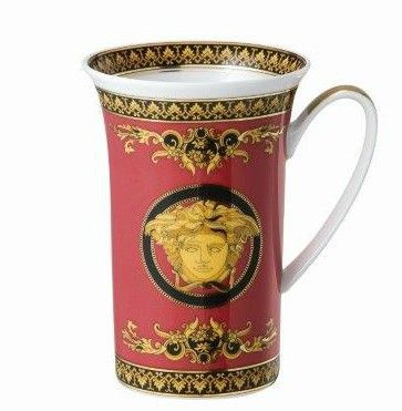 Versace Medusa Red Chocolate Mug