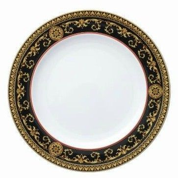 Versace Medusa Red Dinner Plate 27cm